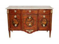Commode Louis XVI estampillee Jacques Birckle