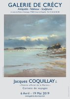 Jacques Coquillay, carnets de voyages 6 avril-19 mai 2019
