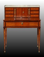 Bonheur Du Jour Formant Dressing Table Louis XVI