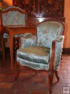 Child of Louis XV carved beechwood armchair