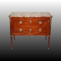 commode Louis XVI veneer rosewood