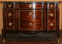 commode transition estampillee Saunier